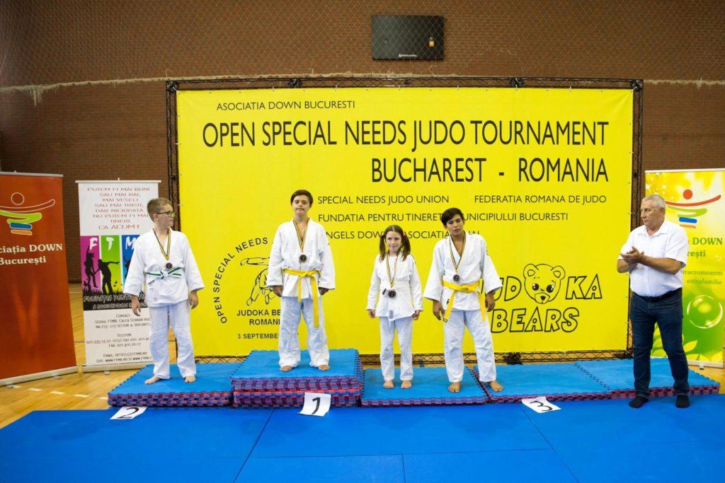 Competitie Judo Persoane Nevoi Speciale