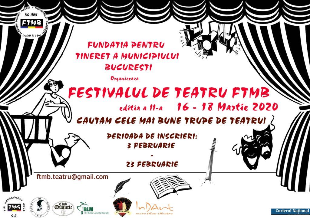 Festivalul de Teatru FTMB 2020